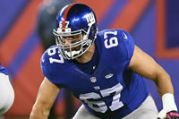 Injury Update: Giants' Justin Pugh Will Not Play Sunday