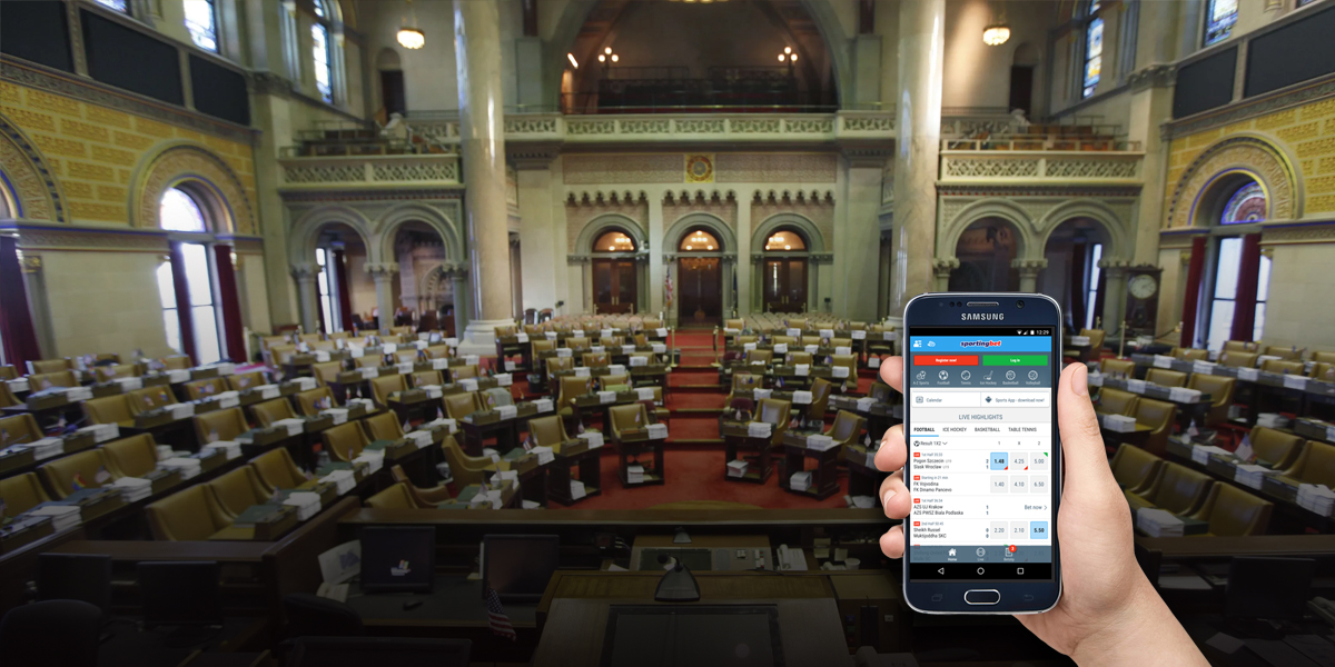 New York Legislature Considers Mobile Sports Betting